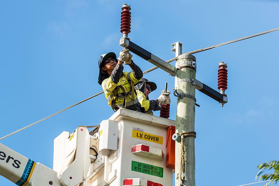 Overhead Power Lines Western-Australia