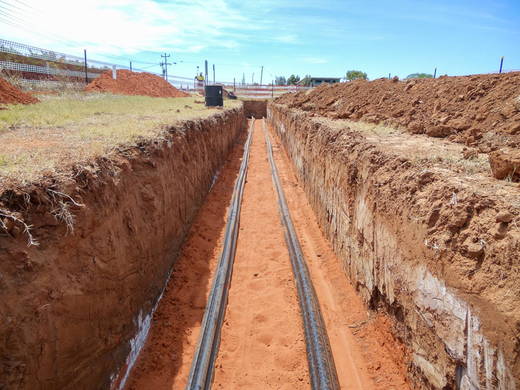 Trenching and excavation services in Western Australia by Geographe Underground Services (GUS)