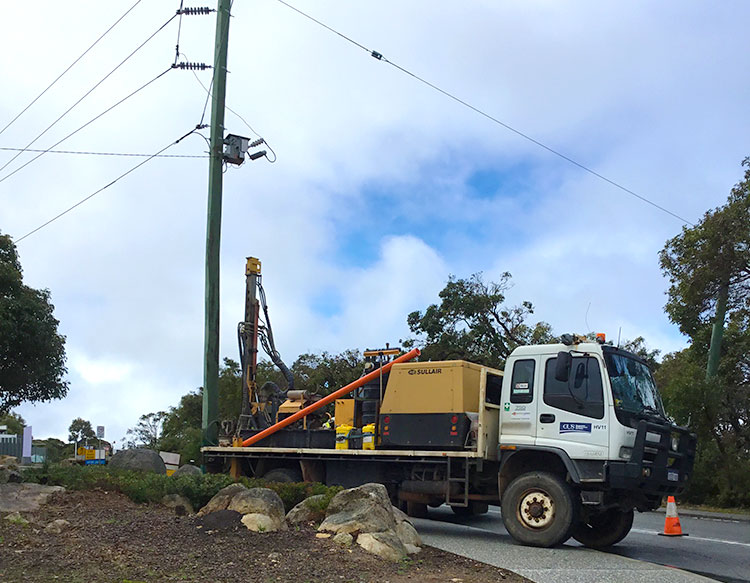 Deep earthing in Western Australia by Geographe Underground Services
